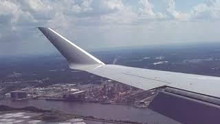 Landing in Savannah Ga