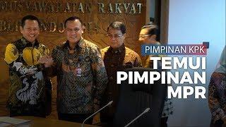 Pimpinan KPK Temui Pimpinan MPR