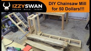 Insanely Cheap Chainsaw Sawmill | How To