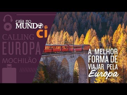 Viaje pela Europa de trem!