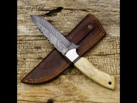 Forseti Steel Damascus Fixed Blade Knife Review