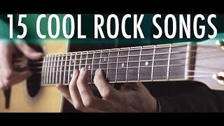 15 SUPER COOL ROCK SONGS in fingerstyle