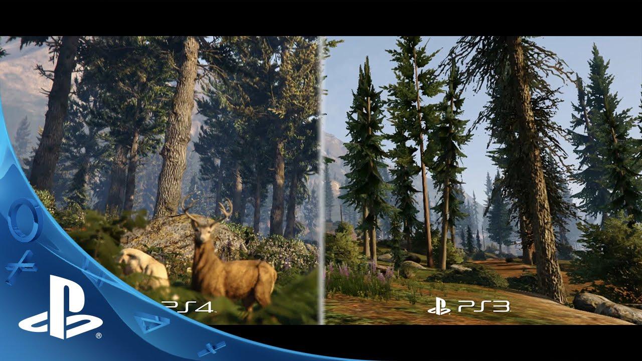 Grand Theft Auto V: comparação de PS3 para PS4