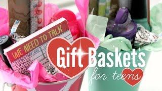 DIY | Gift Baskets For Teens | Rachel Republic
