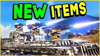 Crossout - NEW UPDATE OVERVIEW - Helios, Corvo, Nidhogg, Oculus, & Coupler (Knight Riders 0.9.120)