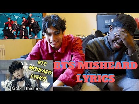 BTS Misheard Lyrics REACTION (IMPOSSIBLE TO NOT LAUGH!)