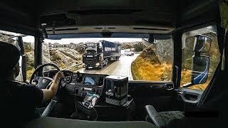 CV POV Driving Scania S520 - Loading granite in Hellvik, Norway!