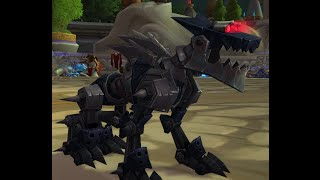 Treble (Black/Silver) Mechanical Wolf Tame Guide : World of Warcraft Legion