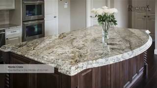 A Variety Of Granite Kitchen Countertops