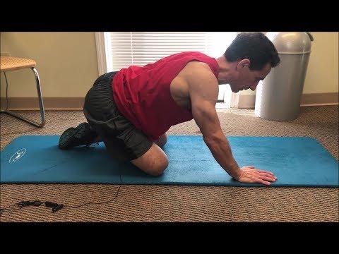 Ćwiczenia dla ustalonej masy mięśni piersiowych dla
