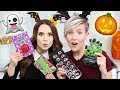 Download Youtube: TRYING FUN HALLOWEEN CANDY w/ Hannah Hart!