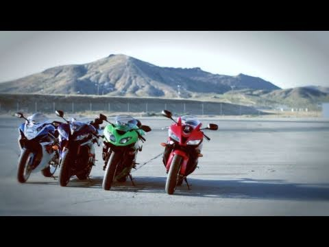 Supersport Track Shootout Honda vs Kawasaki vs Yamaha vs Suzuki