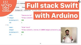 Full stack Swift with Arduino, Axel Roest (English)