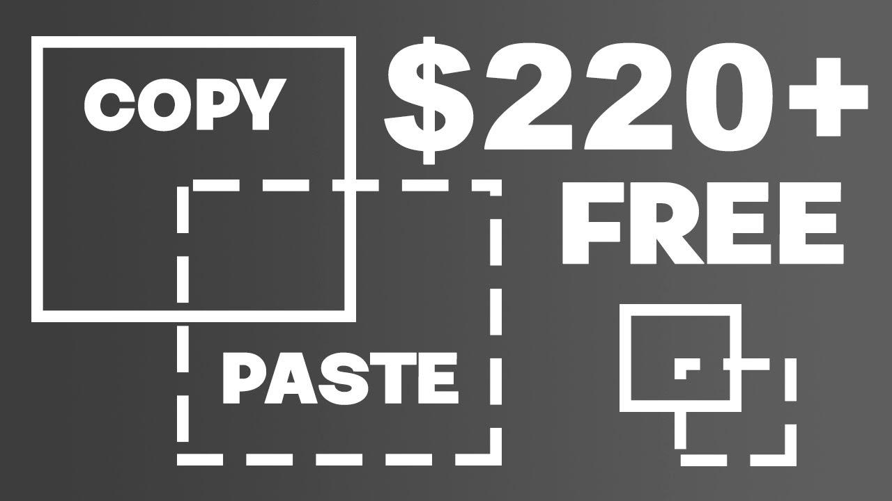 Copy+Paste To Earn $220.00+ For FREE?!! - Make Money Online | Branson Tay thumbnail
