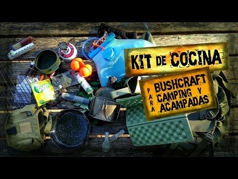 Mi KIT de COCINA Ideal Para BUSHCRAFT, CAMPING o ACAMPADAS | BUSHCRAFT COOKING KIT