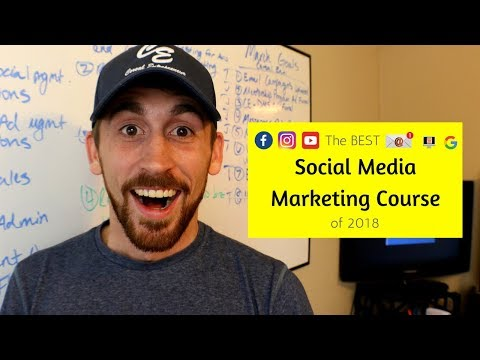 The Best Social Media Marketing Course in 2019 - YouTube