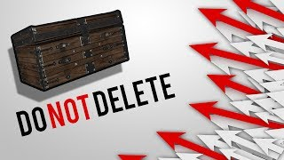 Skyrim how to get DO NOT DELETE Chests FAST/EASY!