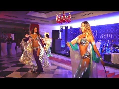 ЛИНДА ШОУ   Красивые восточные танцы со светодиодными крыльями