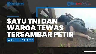 Berteduh di Bawah Pohon, Anggota TNI dan Warga Sipil Tewas Tersambar Petir di Sulsel