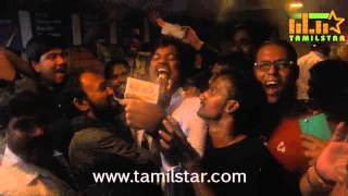 Jeva celebrates Rajini's Birthday and Lingaa Release