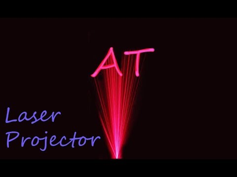 How to make Laser projector at home