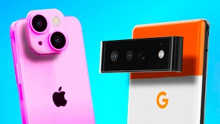 Google Pixel 6 vs Apple iPhone 13