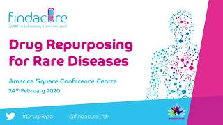 "2020 CWR presents ""Building Value in Clinical Repurposing Opportunities"" at Findacure's Drug Repurposing for Rare Disease conference"