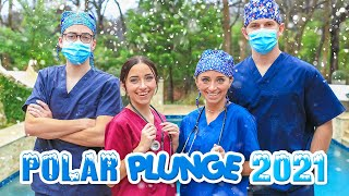 Polar Plunge 2021 | Our Coldest Year EVER! by Brooklyn and Bailey
