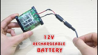 how-to-make-12v-rechargeable-battery-pack-from-18650-battery
