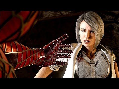 SPIDER-MAN PS4 Silver Lining DLC All Silver Sable Cutscenes