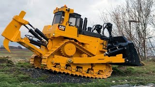 BRUDER Toys CAT D10 RC conversion by GRUMALU RC Heavy Equipment Solutions