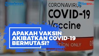 Isu di Masyarakat Sebut Vaksin Sebabkan Covid-19 Bermutasi, Apa Benar? Begini Penjelasan Para Ahli