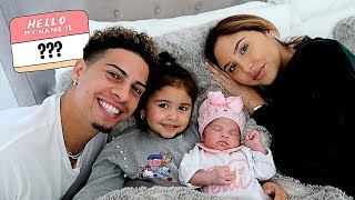 BABY NAME REVEAL!!! **IS THE ACE FAMILY NAME CHANGING???**