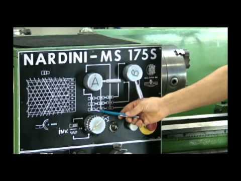 CURSO  DE TORNEIRO  MECÂNICO- AULA  4 (vídeo 1) TORNEARIA  Preparar a  RPM  -Prof.  Maércio
