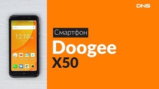 Смартфон DOOGEE X50 1/8GB Black от компании Cthp - видео 3