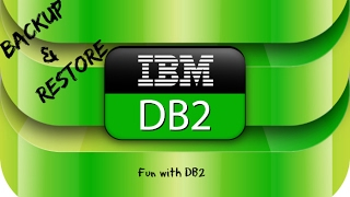 DB2 Basics Tutorial Part 16 -  Backup and Restore