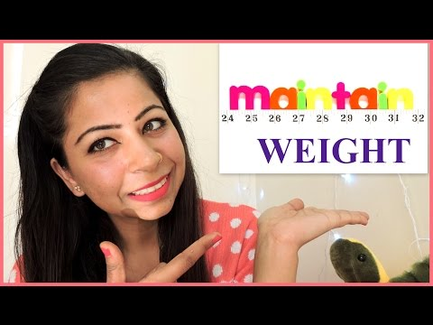 How To Maintain Your Ideal Weight Without Exercise | Post Weight Loss Tips