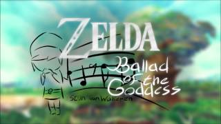 The Legend of Zelda - Ballad of the Goddess - Orchestral remix
