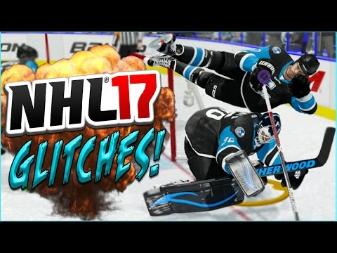 NHL 17 Funny Glitches, Moments & Hits! (Doc The Comedian) #7