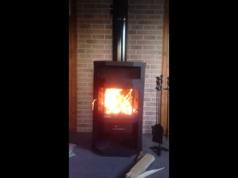 Печь-камин Мета Metafire Ока с плитой (видео)