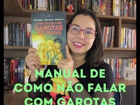 Como falar com garotas em festas de Neil Gaiman, Fábio Moon e Gabriel Bá | Leitura Mania