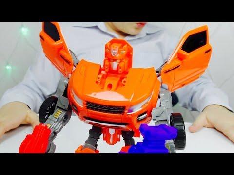 Трансформеры Автоботы и  ТОБОТЫ Интеграция Роботы из Мультика для детей МАШИНКИ для мальчиков