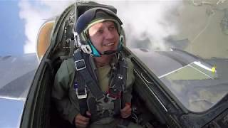 L 39 Jet Flight In Russia   Including Outside Cameras!