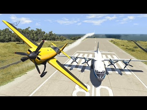 Airplane Crashes #8 - BeamNG DRIVE | SmashChan