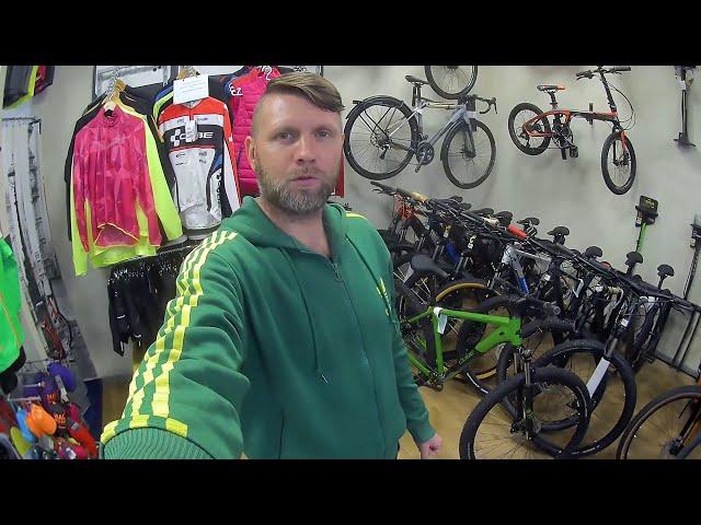 Видео Велосипед Cube Analog deepgreen´n´black