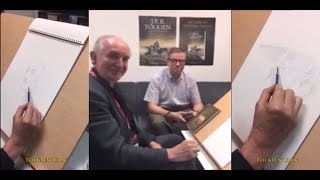 More Alan Lee Unintentional ASMR   Softly Spoken Interview & Drawing With Lord Of Rings Illustrator