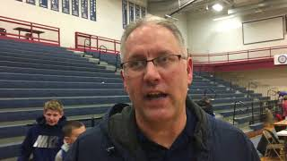 Boyne City coach Nick Redman says rebounding was tough against GR Catholic Central
