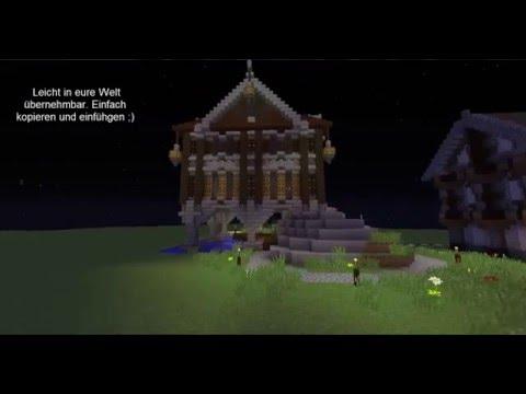 Mittelalter Haus Am Wasser Minecraft Project - Minecraft hauser download und einfugen