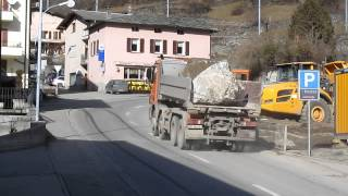preview picture of video 'Pirovino Mercedes Actros 3248 480 PS a Brusio'