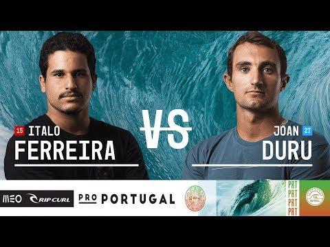 Italo Ferreira vs. Joan Duru - FINALS - MEO Rip Curl Pro Portugal 2018